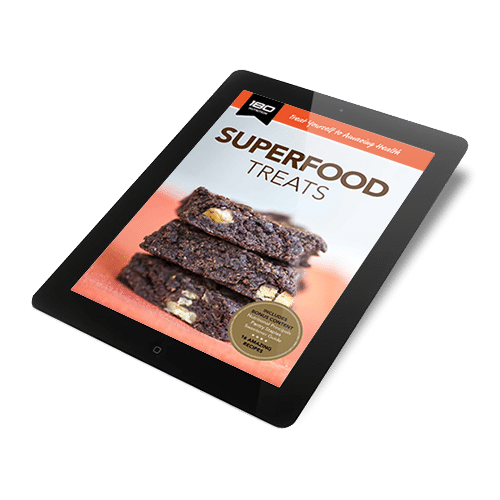 180 Nutrition Superfood Treats Recipe Book