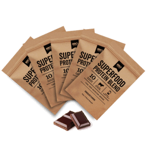 180 Superfood Protein Blend Chocolate Sample Packs