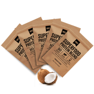180 Superfood Protein Blend Sample Packs