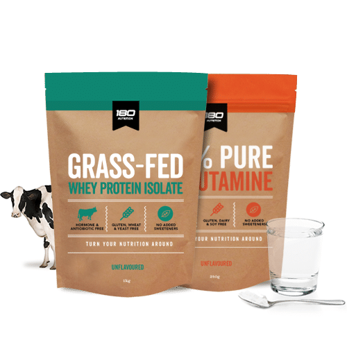 Grass Fed Whey & L-Glutamine Bundle