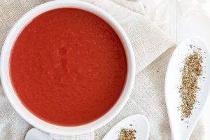 10 minute tomato collagen soup