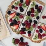 healtyhy breakfast fruit pizza