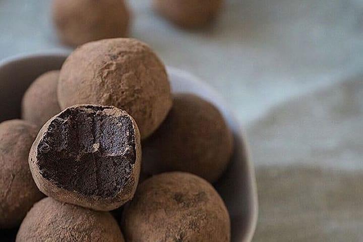 fudge plant based protein balls