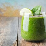 green cleansing collagen smoothie