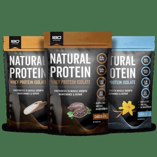 Whey Protein Isolate Bundle