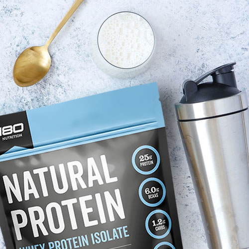 whey protein isolate shake