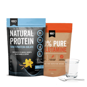 Whey Protein Isolate and L-Glutamine Bundle
