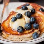banana bread collagen pancakes