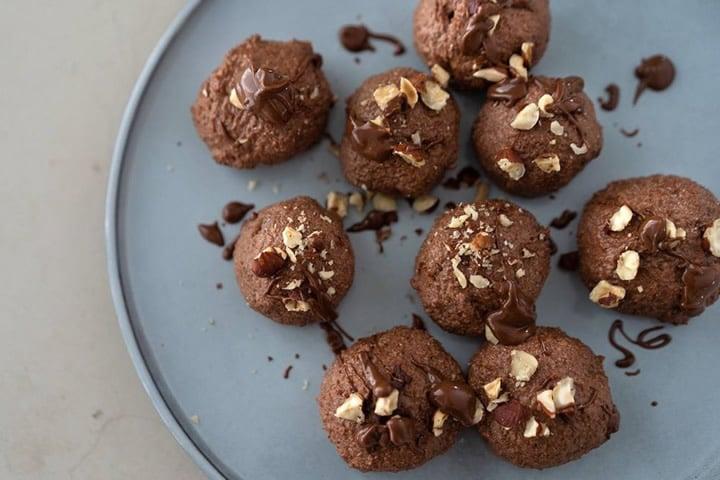 Nutella protein balls